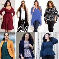 Как одеваться с толстым животом?